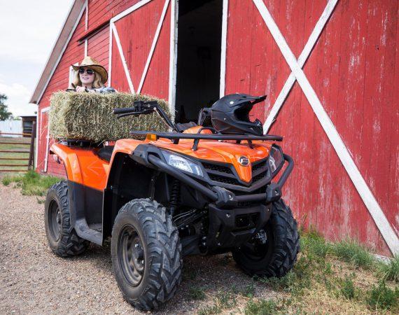 Praktisch in der Landwirtschaft: CForce 450s